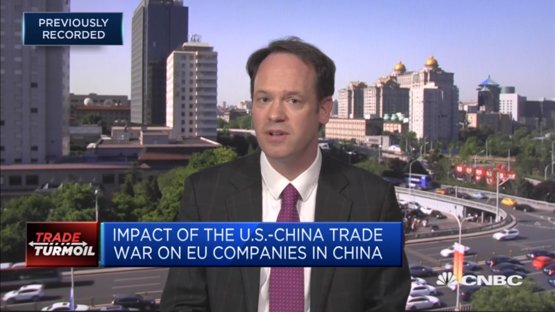 Secretary General Dunnett Speaks to CNBC on Impact of the US-China Trade War